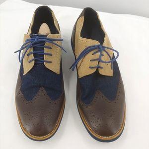 Joseph Abboud wingtip lace up shoes